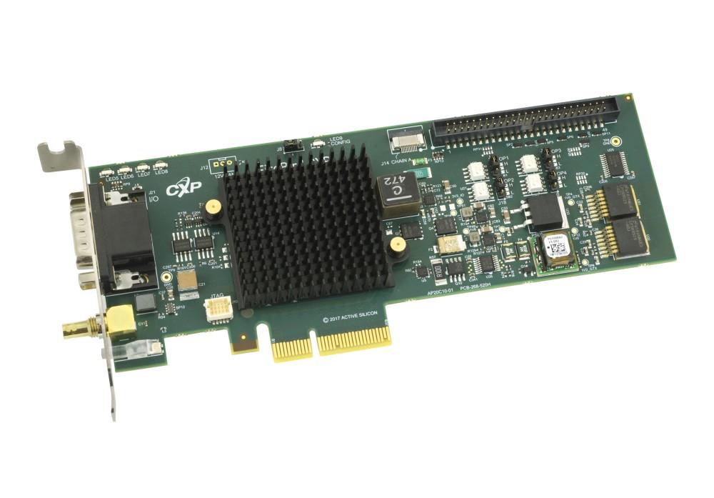 FireBird CoaXPress Frame Grabber (1xCXP6-2PE4L)