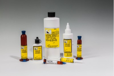 High and Low Refractive Index Adhesives