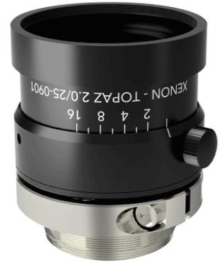 Xenon-Topaz Lenses