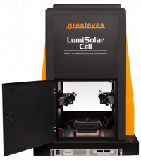 Wafer Solar Cell Inspection System Greateyes Gmbh Nov
