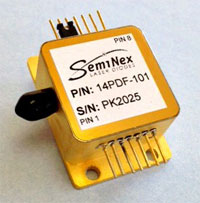 SemiNex 14-pin DF laser package