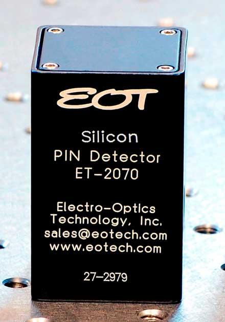 Electro-Optics Technology Inc. - UV-enhanced Silicon Photodetector
