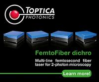 FemtoFiber dichro design by Toptica
