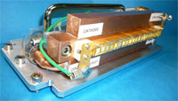 Princeton Optronics VCSEL array linear heater