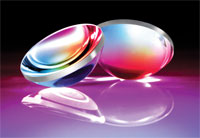 Edmund Optics TechSpec Laser-Line Coated Precision Aspheric Lenses
