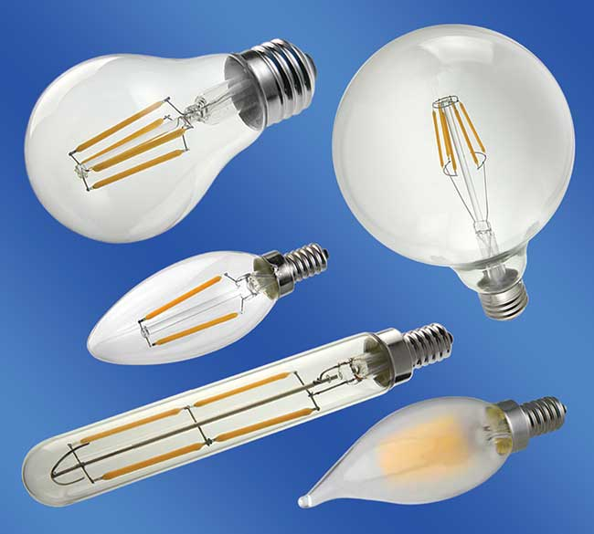 Filament-Style LED Light Bulbs