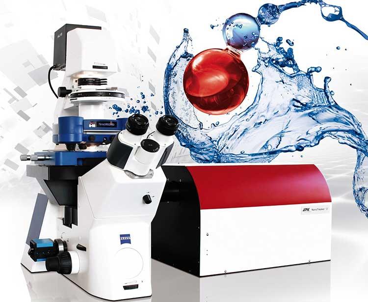 Combination Optical Tweezer and Atomic Force Microscope