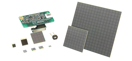 Hamamatsu Silicon Photomultipliers (SiPM)