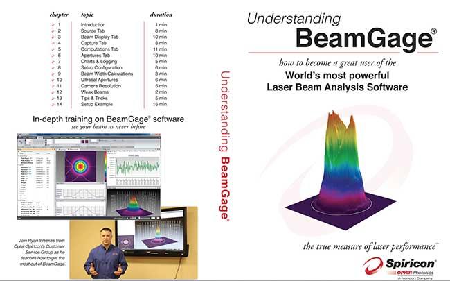 Laser Beam Profiling Training Tool