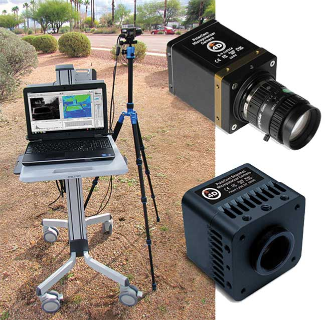 Remote Application Polarization Cameras