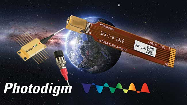 Space Qualified Laser Diodes
