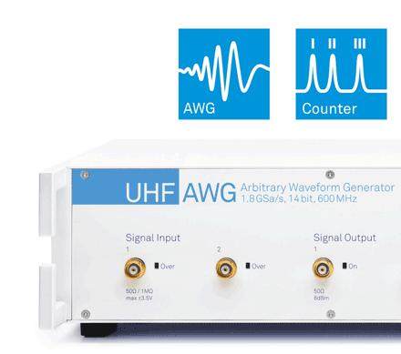 Zurich Instruments' Arbitrary Waveform Generator