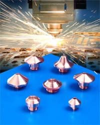 Copper CO<sub>2</sub> Laser Nozzles