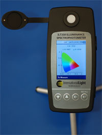 Illuminance Spectrophotometer