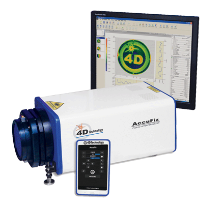 4DTechnology's AccuFiz SIS Laser Interferometer