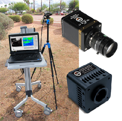 4D Technology's Polarization Cameras for Remote Applications