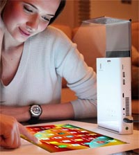 Touchscreen Display Projector