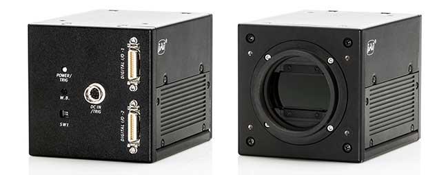 Dual-Sensor Line Scan Camera