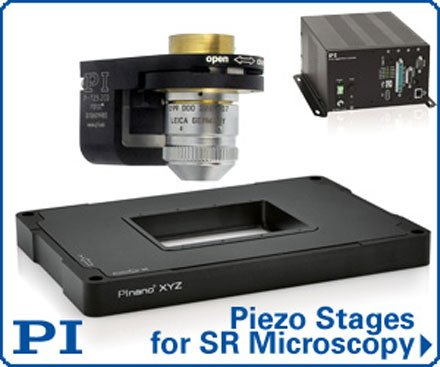 PI 2nd generation Piezo stages