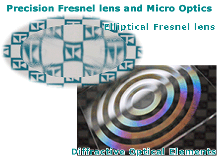 NTKJ's Precision Fresnel Lens and Micro Optics