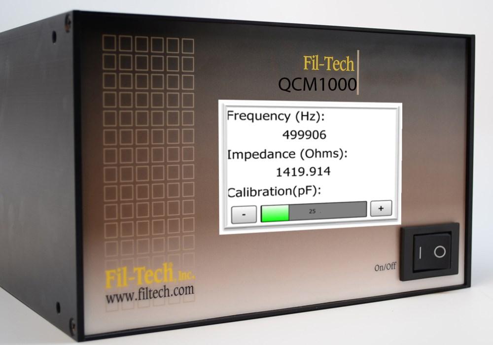 Fil-Tech Quality Crystal Microbalance Test Instrument