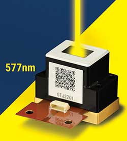 Hello Yellow! 577nm laser source
