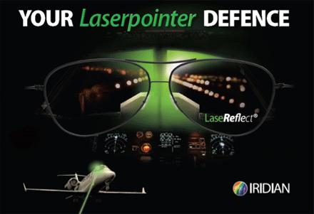 Iridian LaseReflect Glasses