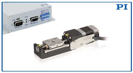 compact linear stage from Physik Instrumente LP