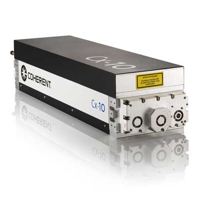 Cx-10 120-W CO<sub>2</sub> laser from Coherent
