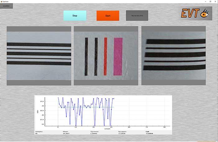 Pharmacode Vision Sensor