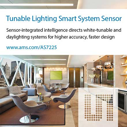 White Lighting Smart System Sensor