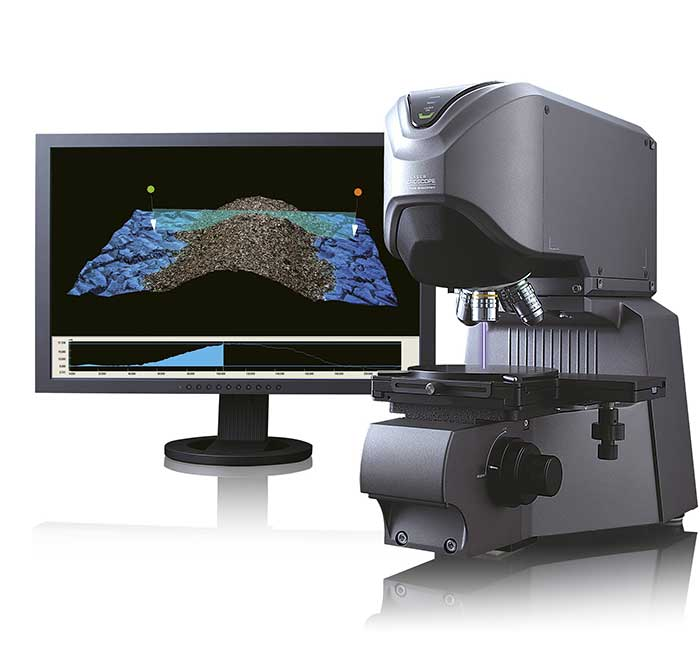 3D Laser Scanning Confocal Microscope