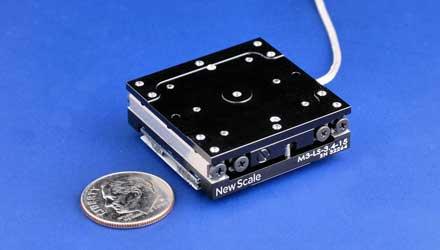Piezoelectric Microstage