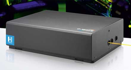 HUBNER GmbH & Co. KG - AbsoluteLambda™ for C-WAVE, the Tunable Laser