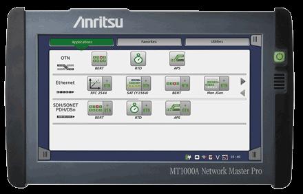 Anritsu's Network Master™ Pro MT1000A