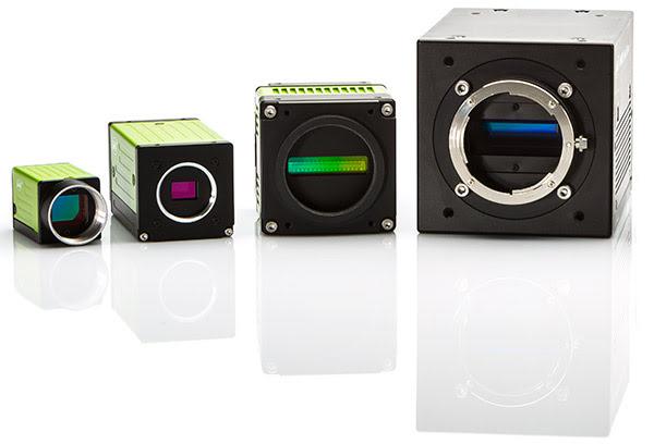 Three-Sensor Line Scan Camera