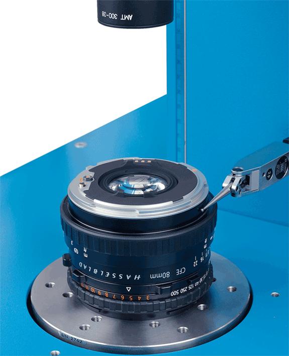 Optical Centration Measurement