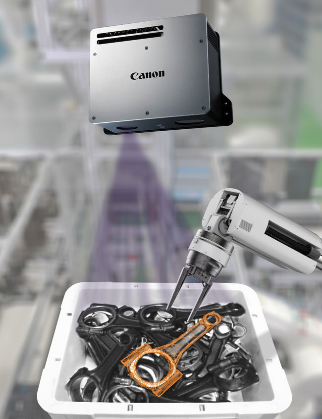 Canon U.S.A. Inc., Industrial Products Div. - Canon 3-D Machine Vision System for Random Bin Picking