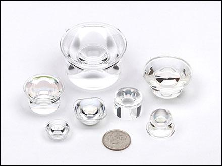 Custom, Precision, Polymer Optics