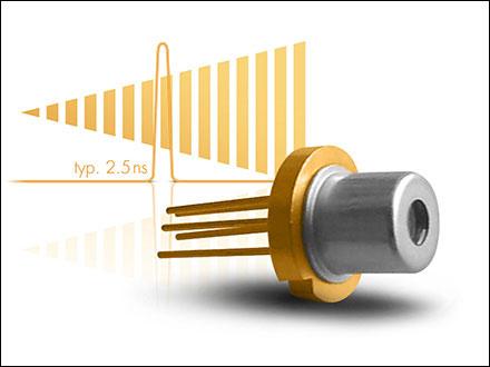 Fastest Hybrid Pulsed Laser Diode