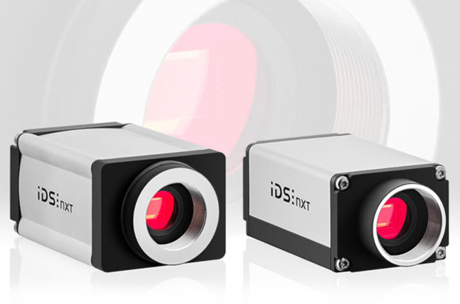 IDS NXT industrial cameras with AI
