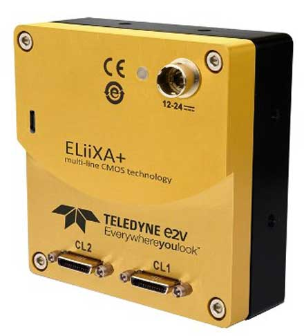 Teledyne e2v (UK) Ltd. - Next Generation of Trilinear Line-Scan Cameras