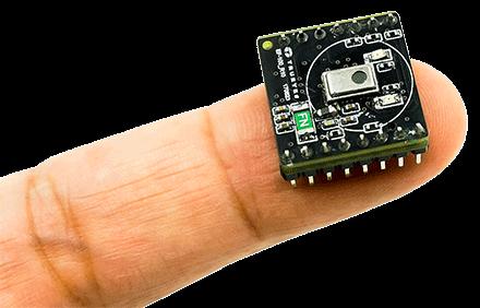 Pyroelectric Flame-Sensing Module