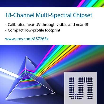Multispectral Sensor Chipset