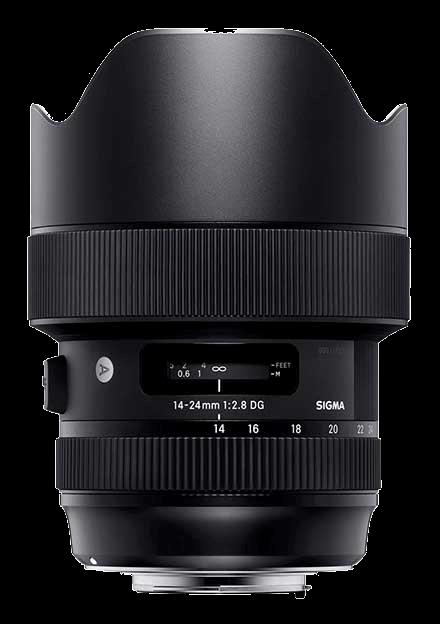 Wide Aperture Zoom Lens