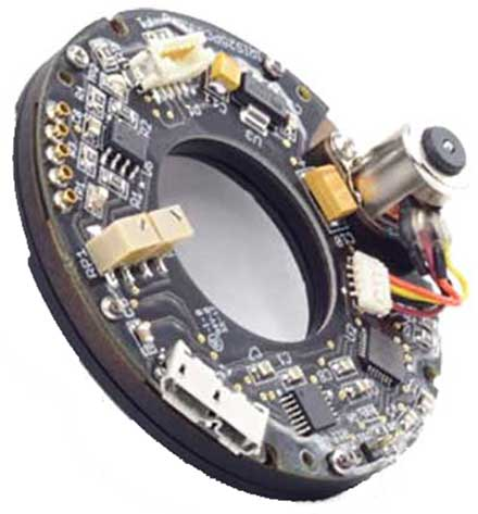 Electronically Controlled Aperture