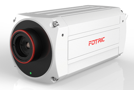 Fire-Detecting IR Thermal Camera