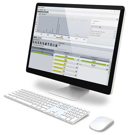 Raman Spectral Database Software