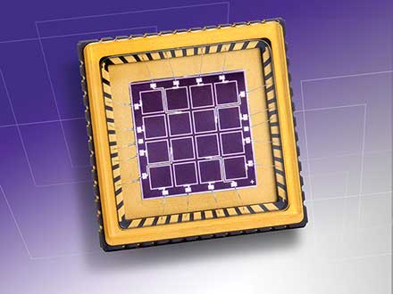 4 × 4 Silicon Array Detectors