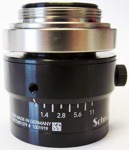 Coded Industrial Lenses